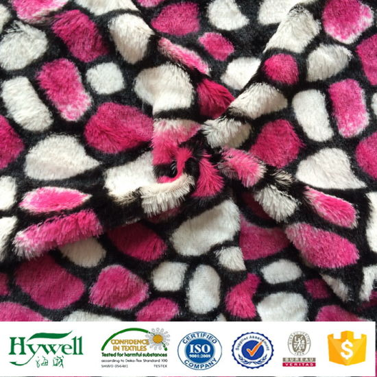 Super Soft Plush Fabric for Toys Carpet Blanket Cushion
