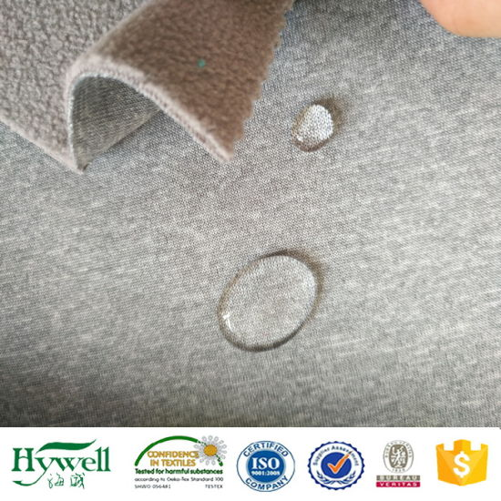 100 Polyester TPU Compound Softshell Fabric
