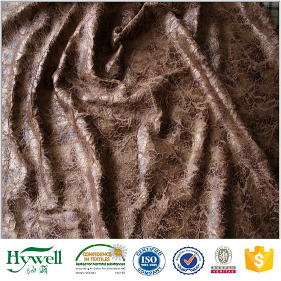 Polyester Suede Leather Sofa Fabric