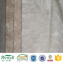 100% Polyester Suede Leather Fabric for Furniture