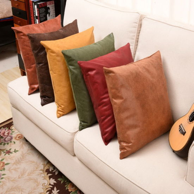 PU Leather Cushion Fabricsofa Cushion Cover