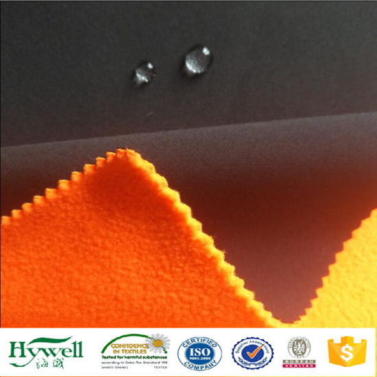 Woven Stretch Laminated TPU Membrane Softshell Fabric for Winter Jacket