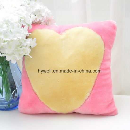 Coral Fleece Cushion Cover Fabric for Baby