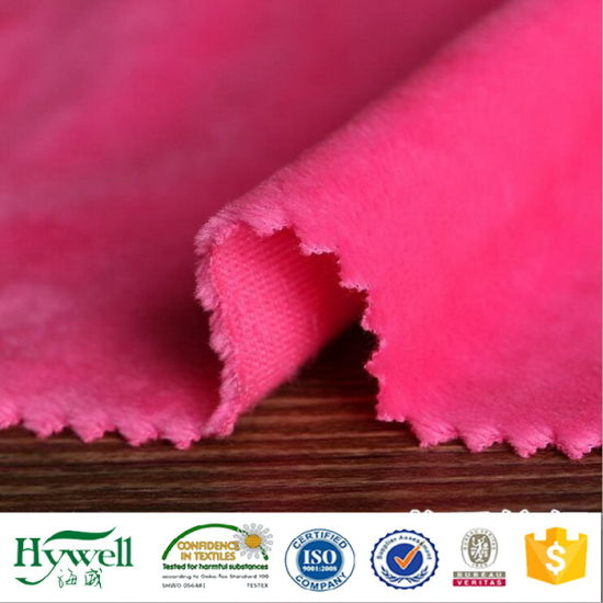 Micro Velboa/Super Soft Velvet/Minky DOT for Blanket/Cushion