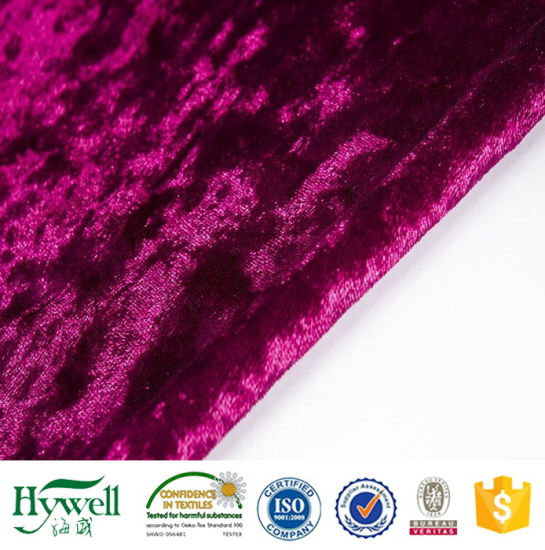 Crushed Velvet Sofa Cover Fabric