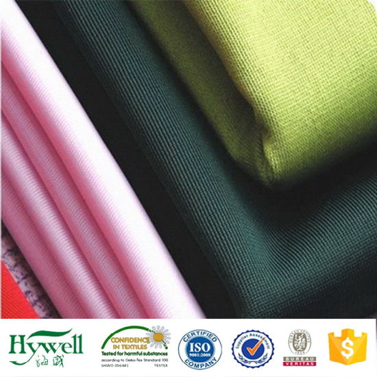 Comfortable Polyester Fabric for Sportswear Uniform School Garment