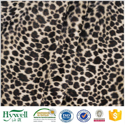 Leopard Printing Super Soft Velour Hywell Textile
