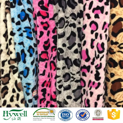 Super Soft Leopard Printing Coral Fleece