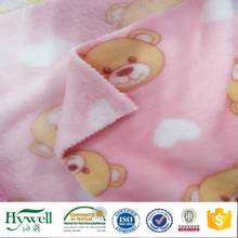 Stock Coral Fleece Fabric for Blanket