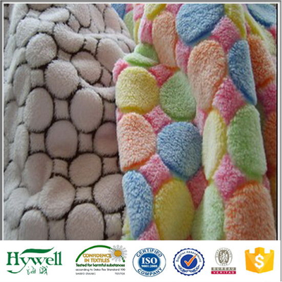 Knitted Coral Fleece Fabric with Printing