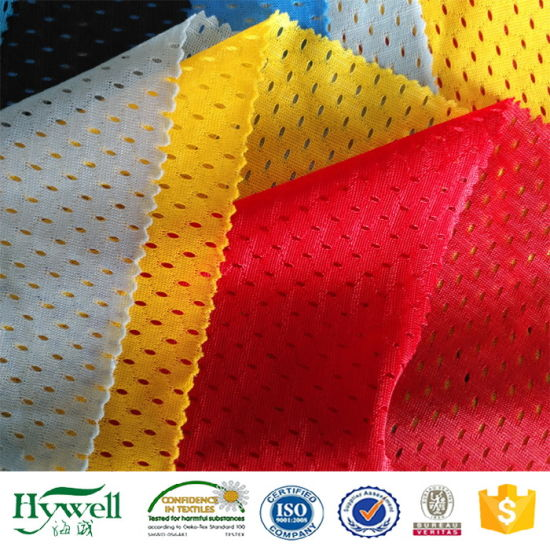 Polyester Mesh Fabric for Sporswear