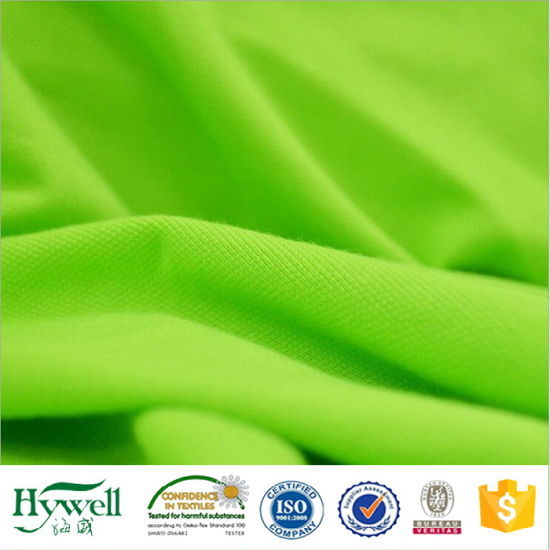 100% Polyester Pique Knitted Fabric for Polo Shirt
